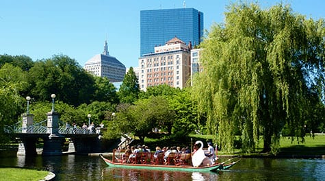 Boston-Public-Garden-in-summer-#2