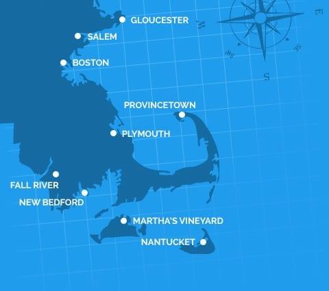 Ports In Massachusetts Cruise Massachusetts Cruise