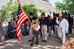 July 4th parade at OSV 108700