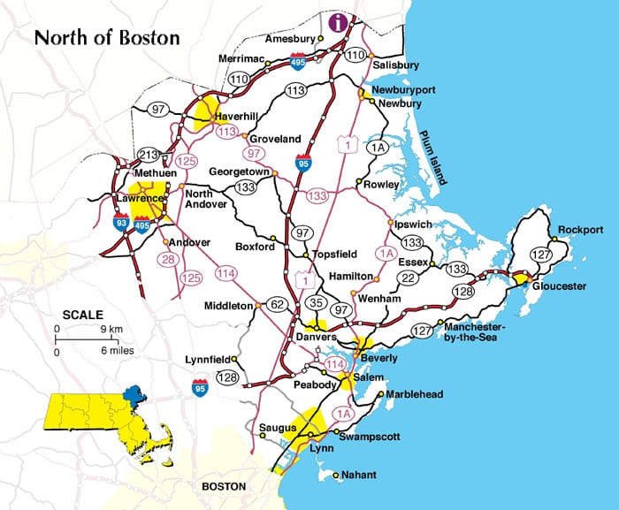 Map Of Massachusetts Boston Map PDF Map Of Massachusetts Towns - Simple map of western us