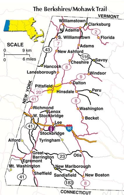 Cities In Berkshire County Massachusetts