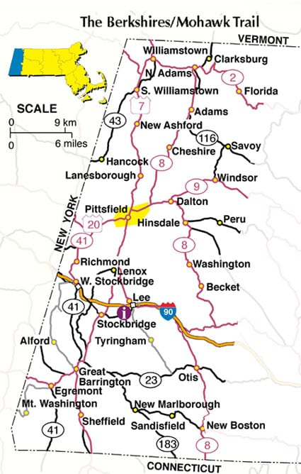 Map of Massachusetts  Boston Map PDF  Map of Massachusetts Towns