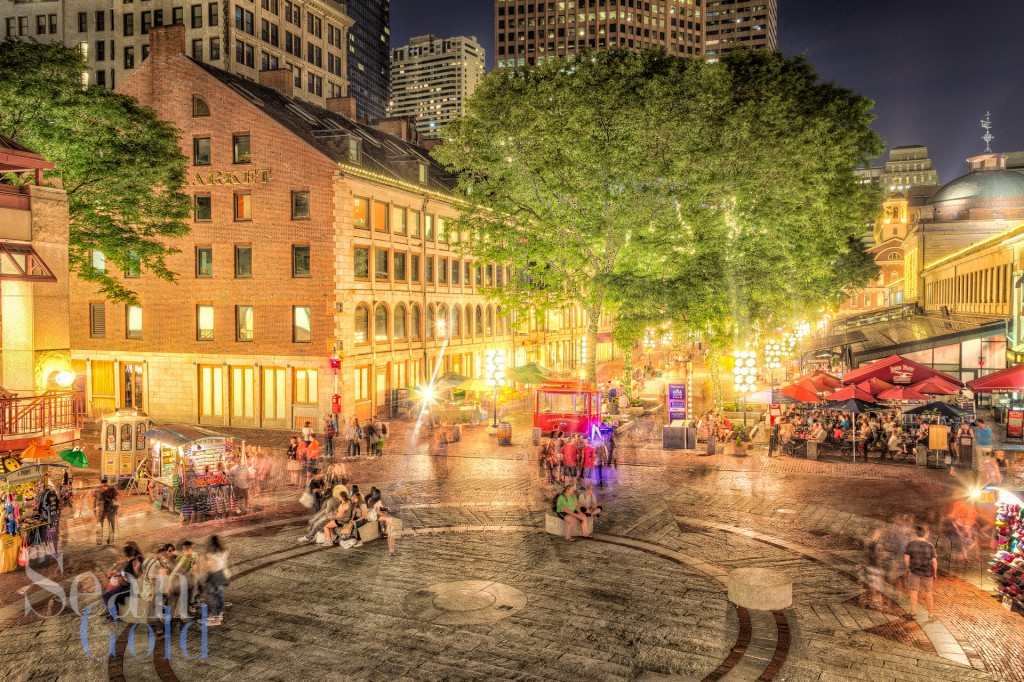 The Lights of Quincy Market
