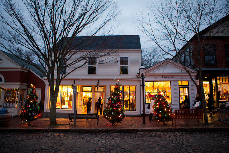 Holiday Stroll on Nantucket