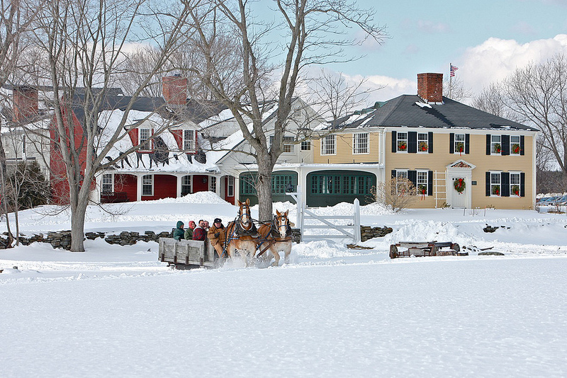 Salem Cross Inn Sleigh Ride in West Brookfield, MA
