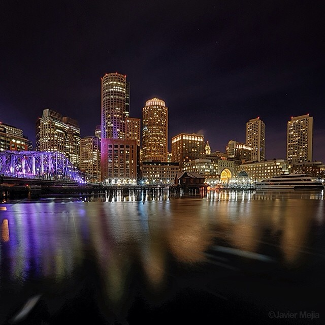 View from Long Wharf by @javimejia
