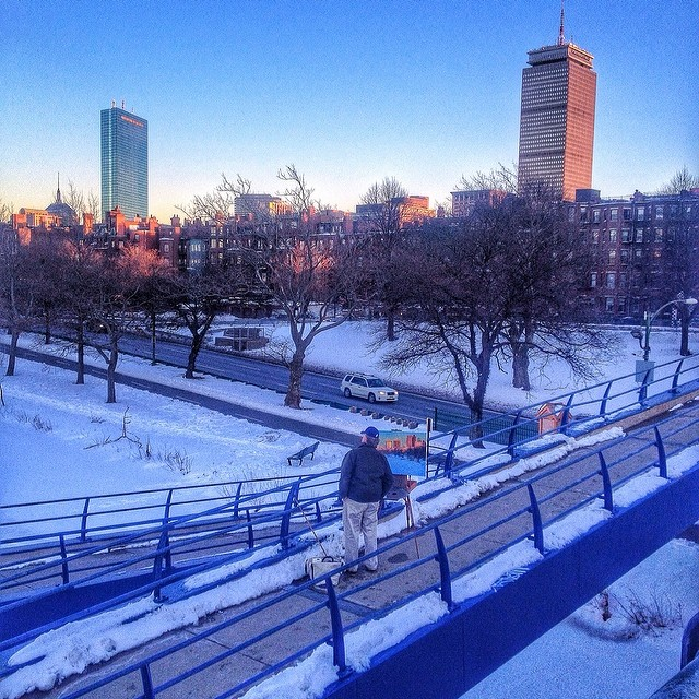 View from the Charles River Bike Path by @daleni01