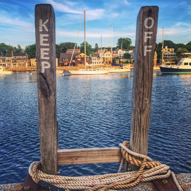 Rockport Harbor in Rockport, MA by @kelsofly