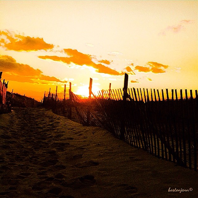 Ryder Beach Sunset in Truro, MA by @bostonjenn