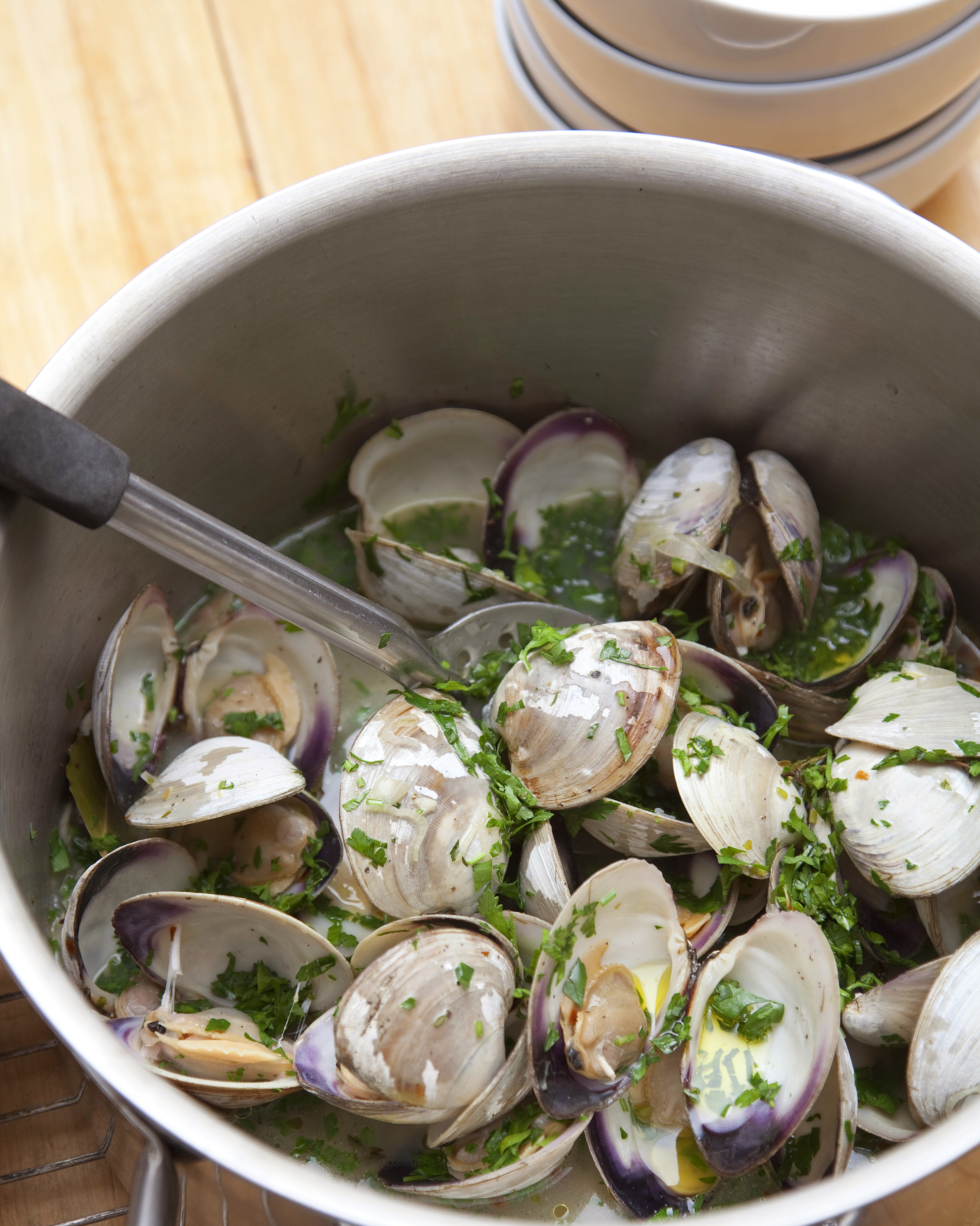 New England clams