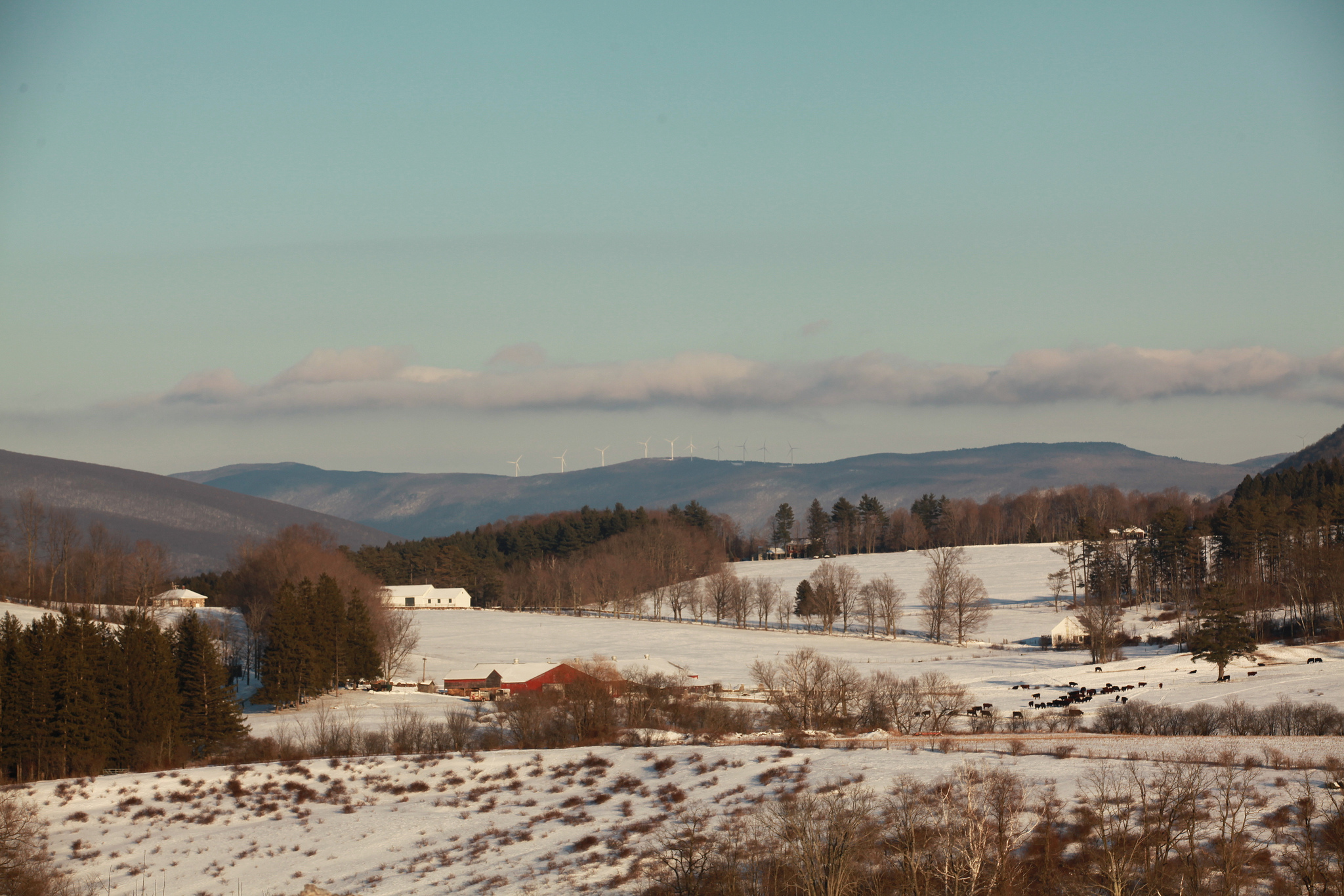 Berkshires scenery