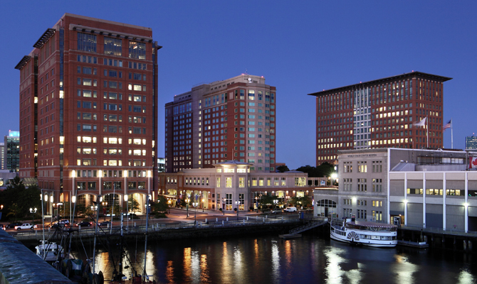 Boston Seaport District Boston Seaport Hotel Restaurants
