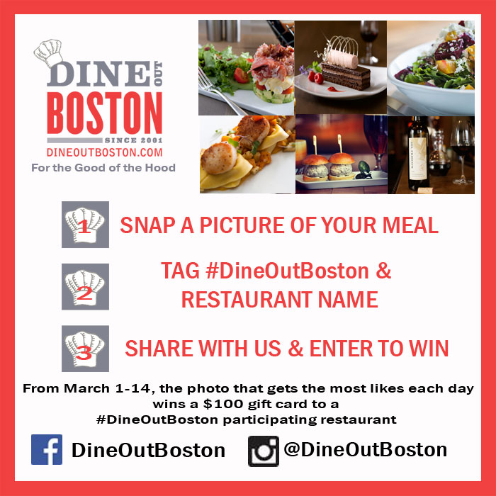 Dine Out Boston Contest