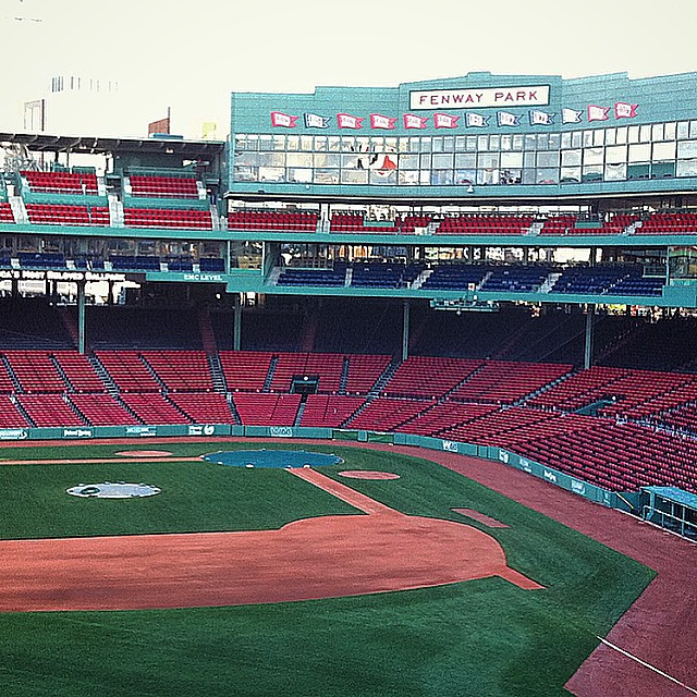 Just about ready for baseball at Fenway Park in Boston, MA by @tblawg on Instagram