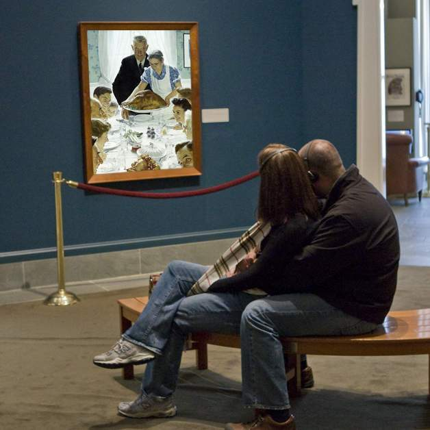Norman Rockwell Museum Exhibits