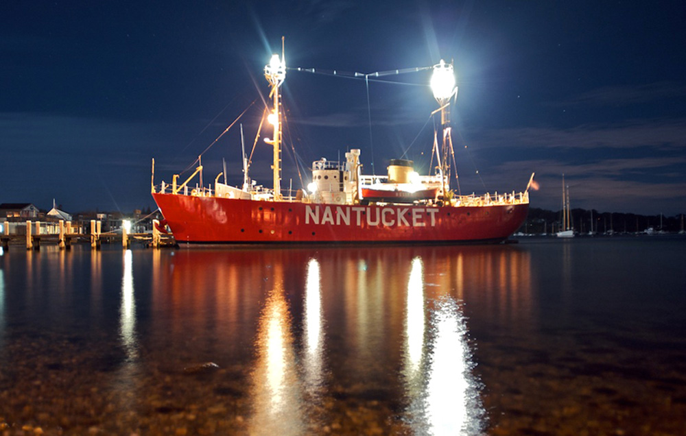 Nantucket-Lightship-night