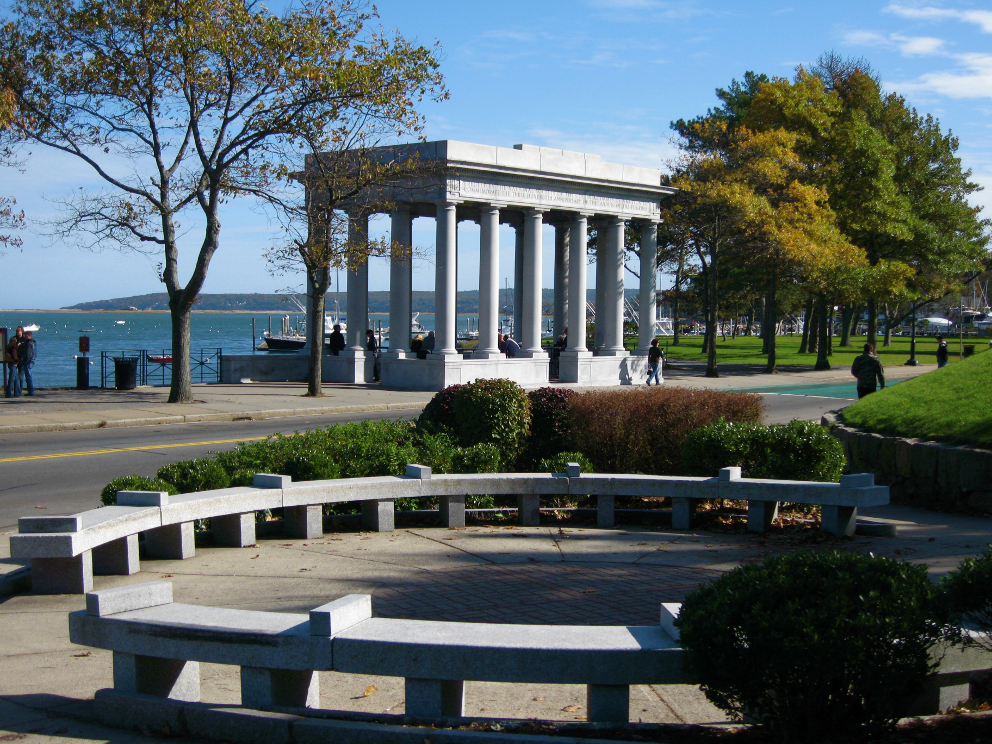 Plymouth Rock, Plymouth